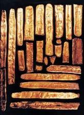 Gold ingots from Bob Marx