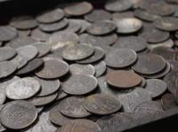 Coins on Admiral Gardner's wreck - 1809