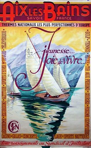 Sailing Aix les Bains