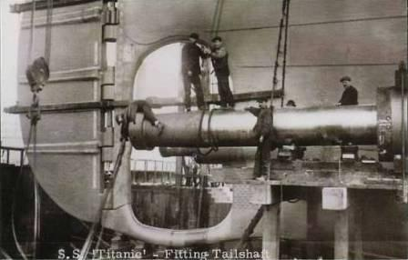 The shaft of the Titanic