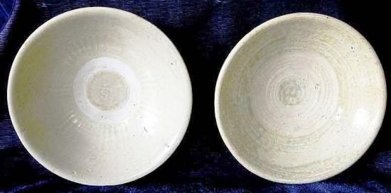Various ceramics seen for sale on Ebay