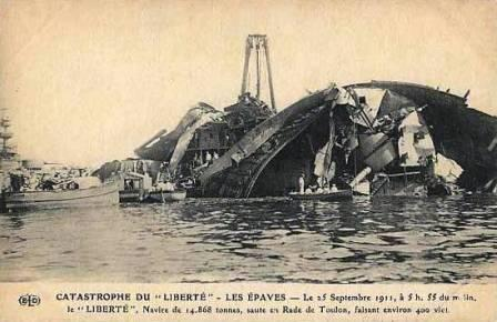 Liberté after the explosion