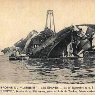 Liberté after the explosion