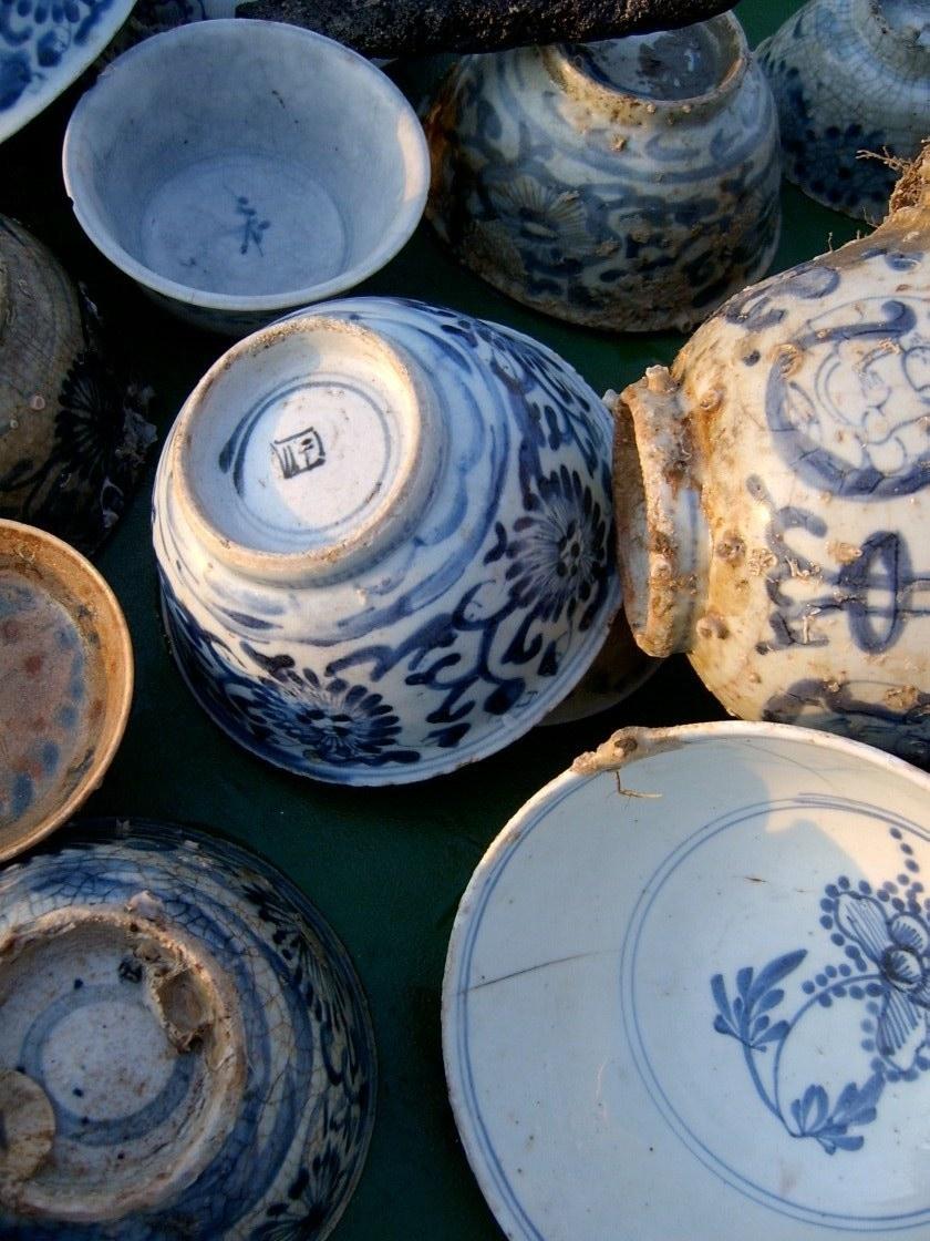 Ming Dynasty export porcelain