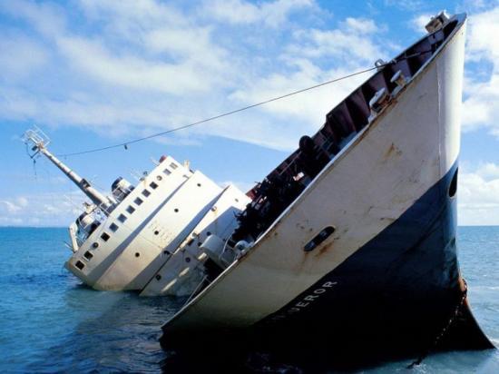 A shipwreck