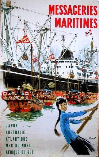 Messageries Maritimes - Asia