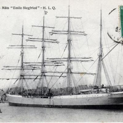 3masted ship Emile Siegfried