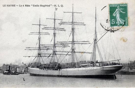 3masted ship Emile Siegfried