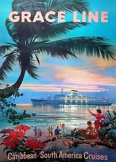 Grace line - Caribbean