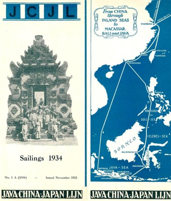 Java - China - Japan Linj