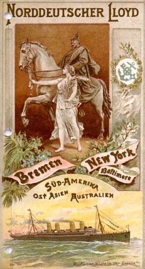 Norddeutscher Lloyd Bremen-New York