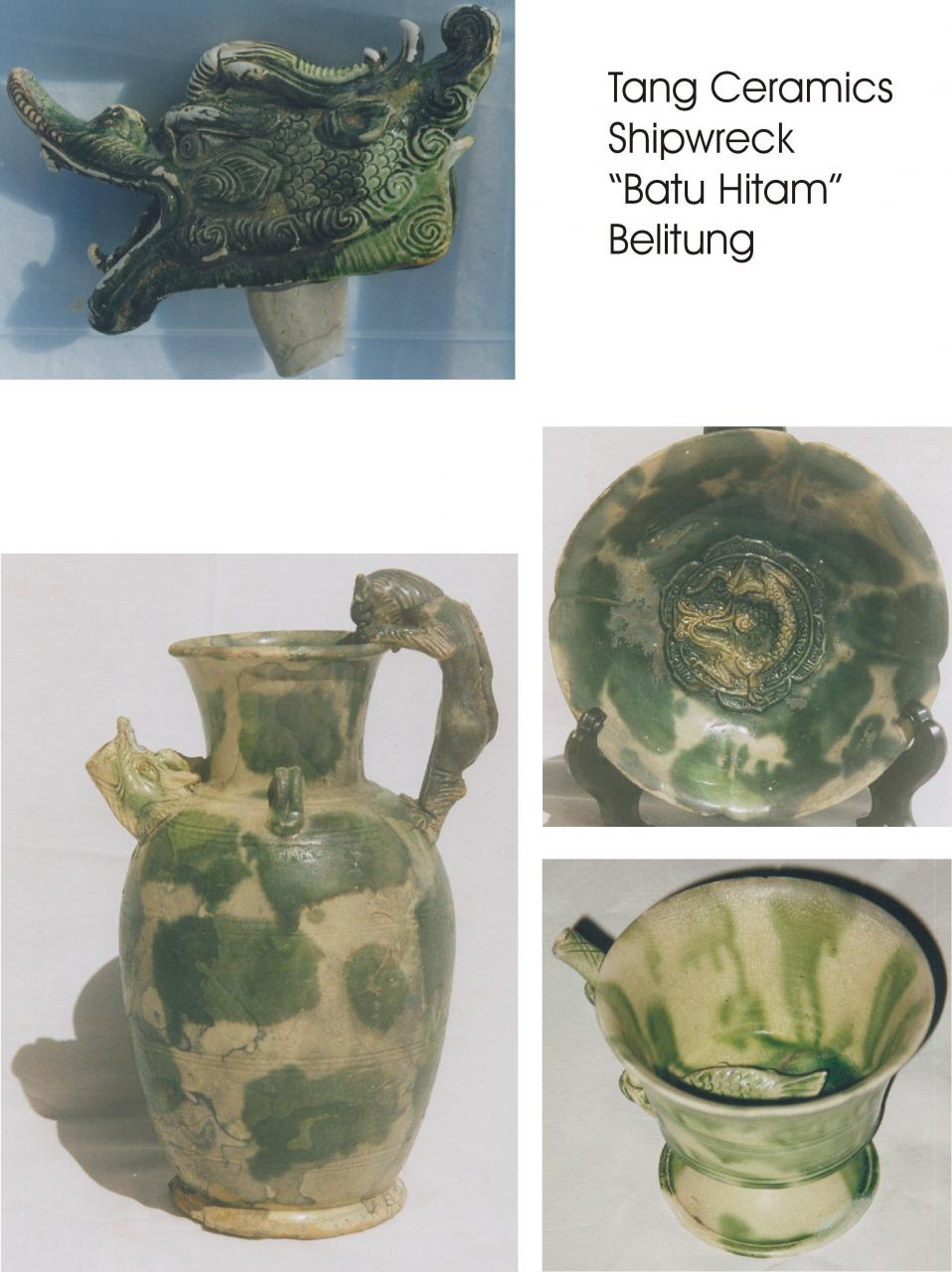 Beautiful Tang ceramics