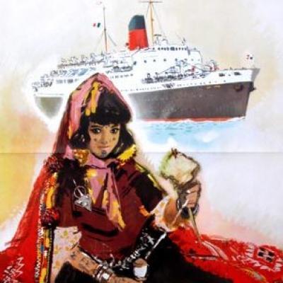 Ville de Tunis - Cie Gal. Transatlantique