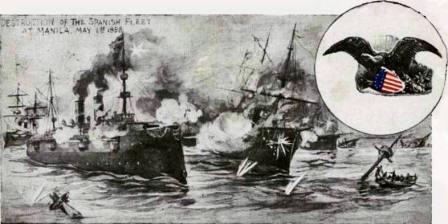 Spanish Fleet at Manila