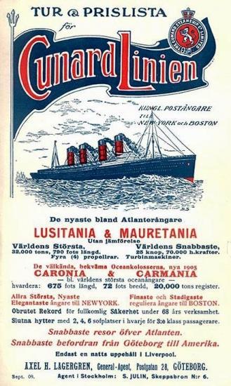 Cunard Linien