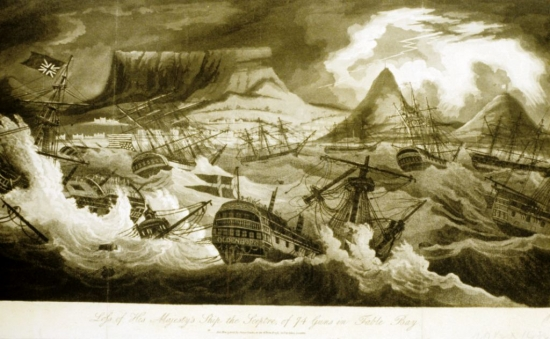 Table Bay - Shipwreck