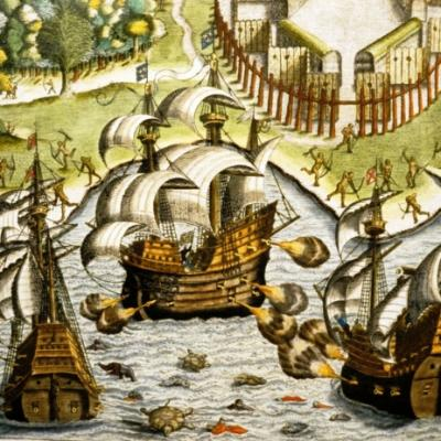 Ships in the Americas
