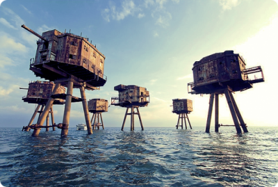 World War 2 sea forts