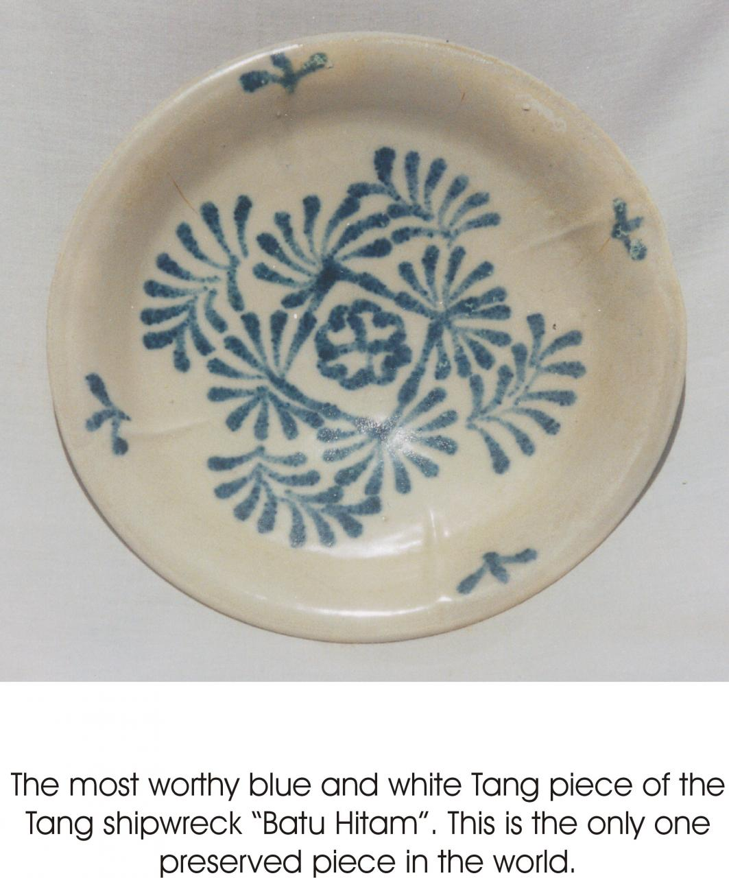 The earliest Blue and White porcelain