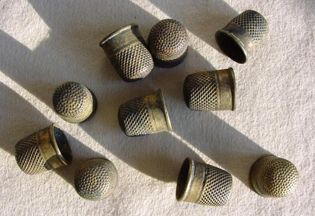 Thimbles from the Général Abbatucci